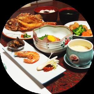 ご夕食(会席料理コース)