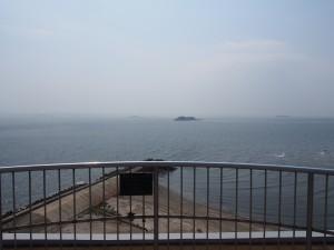 富津岬展望台からの風景
